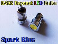 2x 1.5W Bayonet BA9S 1895 T4W SMD Blue Power LED Lamp - Parker Signal Side Bulb