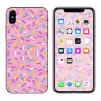 Skin Decal for Apple iPhone X 10  / Sprinkles Cupcakes ice cream