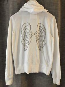 Victoria Secret Angel Wings Hoodie White Medium