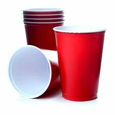 Red Solo Cups 10oz 295ml Rote Becher Beer Pong Red Cups USA Amerika 1000 Stück