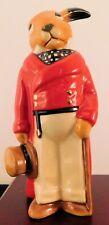 "Royal Doulton Bunnykins Figurine - ""Huntsman"" Db470 - w/Box & Coa"