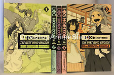 Log Horizon : WWB ( Vol. 1 - 6) English Manga Graphic Novels SET lot New