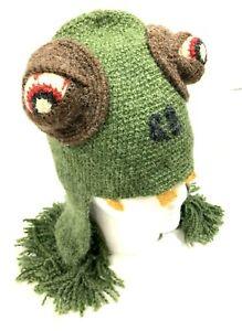 Genuine Peruvian Hat Unisex Handknitted Chullos Earflaps Zombie Costume Hats