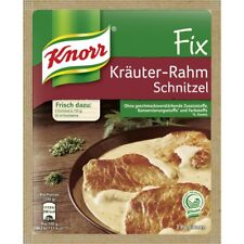 7 x Knorr Fix for Kräuter Rahm Schnitzel fresh from Germany New