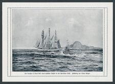 Claus montagnes IMPÉRIALE Marine sous-marin ennemi trajet ww1 Écosse großsegler 1916