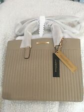 DONNA KARAN NEW YORK  Medium Buf Napa Quilted Satchel Handbag NWT $328
