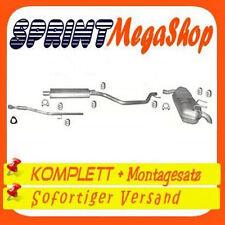 Opel Signum 1.8 90 KW 122 PS 2003-2005 Auspuff Auspuffanlage Hosenrohr 0249