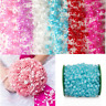 5m 8+3mm Fishing Line Artificial Pearls Beads Chain String Garland Flowers DIY