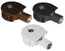 25mm Quickloc Cam Style Furniture Connectors Plastic Brown Black White Plastic