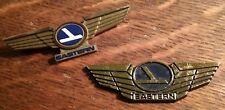 Eastern Airlines Jr Pilot Wings - Vintage Junior Stewardess Airplane Lapel Pins