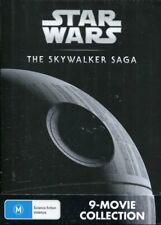 Star Wars The Skywalker Saga Collection 9 Movies Oz DVD BOXSET Region 4 R4