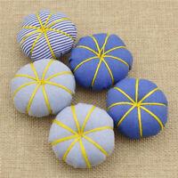 Pumpkin Needle Sewing Pin Cushion 1Pack 5Pcs Stitch Accessories Tools Random