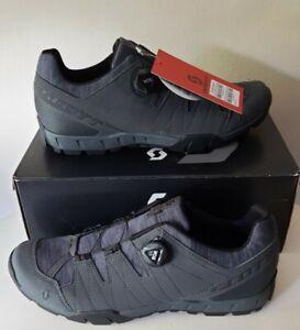 SCOTT men's SPD Cycling Shoes Trail Boa NEW - RRP £109 Size EU 46 Grey BOA dial