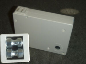Roller shutter white cord control box,winder box. Roller Shutters Blinds Online