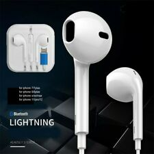 Écouteurs iPhone 7 8 Plus X XR XS Max 11 Bluetooth Casque Micro Contrôle volume