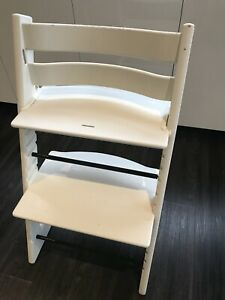 Stokke Tripp Trapp Chair With Baby Set And Cushions