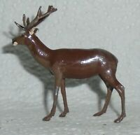 """Vintage Lead Britains Zoo Series Rare """"Red Deer Stag"""" No 957 Near Mint F/S Lot B"""