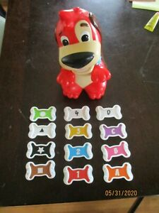 2009-Red Rover Talking Dog Learning Game,Colors,Numbers & Shapes 12 Bones 100%