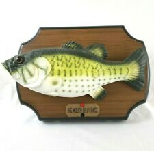 1999 Gemmy Big Mouth Billy Bass The Singing Sensation Singing Moving Fish