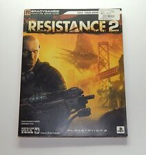 Resistance 2 Brady Games Signature Strategy Guide PS3 R9482