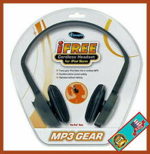 iFREE CORDLESS HEADSET FOR iPOD NANO MP3 GEAR New Fast Shipping