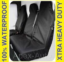 FORD TRANSIT 2007 Waterproof Black Custom Van SEAT COVERS - BRAND NEW