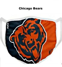 Chicago Bears NFL Football Cloth Face Mask + 2 Filters US SELLER FAST SHIPPING