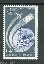 FRANCE 1972, timbre 1721, AVION, CHEVAUX, neuf**, VF MNH STAMP, HORSE, PLANE