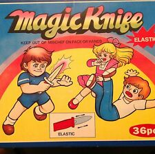 Magic Knifes novelties lot of 36 each item in plastic, carnival, birthday party!