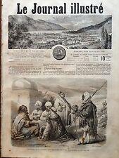 LE JOURNAL ILLUSTRE 1864 N 21 TROUBLES EN TUNISIE : LES DERVICHES DE TUNIS