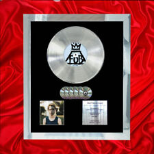 FALL OUT BOY AMERICAN BEAUTY  MULTI (GOLD) CD PLATINUM DISC FREE SHIPPING TO UK