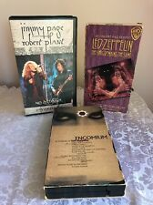 3 Led Zeppelin Vhs Tapes No Quarter, Song Remains The Same, Encomium