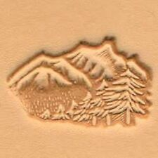 Craftool 3-D Leather Stamp Mountains & Trees (88324-00)