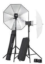 Elinchrom El20838.2 - equipo completo Flash estudio D-lite RX 2/2 Umbrella N...