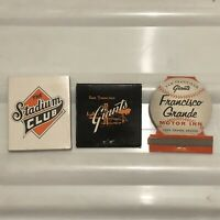 Vintage San Francisco Giants Matches 1961 Rare!