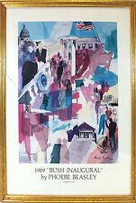 Phoebe Beasley 'Bush Inaugural' Framed Print George H. W. Bush Inauguration
