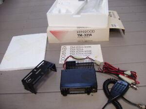 Kenwood TM-331A 220 Mhz FM transceiver