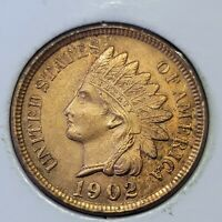 1902 Philadelphia Mint Indian Head Cent