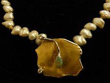 OPAL - superschön verarbeitet - mit Perlen - extravagant