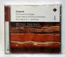 UPSHAW, HAMPSON - COPLAND old American songs, Billy the kid APEX CD NM
