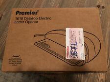 Vintage Premier 1616 Desktop Electric Letter Opener- New In Box