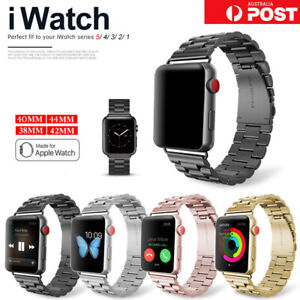 For Apple Watch iWatch Series 6 5 4 3 2 Stainless Steel Watch Band 38/42/40/44mm