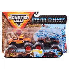 Monster Jam Double Color Change Grave Digger VS Calavera 1 64 Trucks