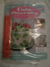 Deagostini Cake Decorating Magazine ISSUE 151 WITH FOLIAGE CUTTERS
