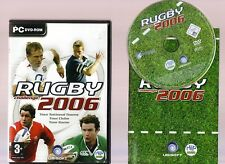 RUGBY CHALLENGE 2006. GREAT RUGGER GAME FOR THE PC!!
