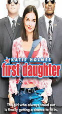 First Daughter [VHS] Katie Holmes, Marc Blucas, Michael Keaton, Amerie, Margare