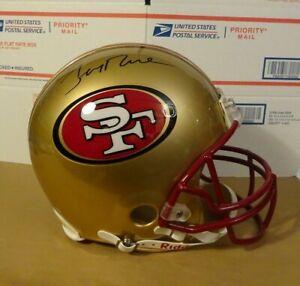 Signed JERRY RICE San Francisco 49ers F/S Proline Authentic Helmet Steiner COA