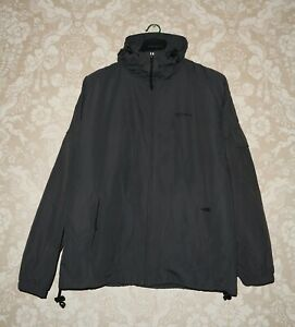 CARHARTT Mens Full Zip Hooded Windbreaker Jacket Size L