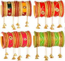 Indian Jewelry Bollywood Kada Bangles Set Ethnic Traditional Wedding Bracelets