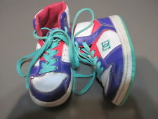 DC Shoe Toddler T Spark Rebound girls baby high top pink purple 3 EUR 24 leather